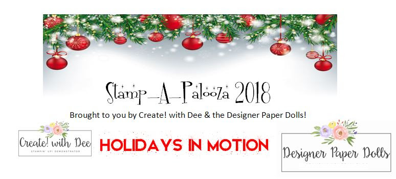 Stamp-A-Palooza 2018 Holidays in Motion
