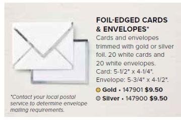 2018-10-12 FoilLined Card Env